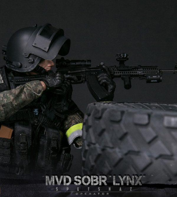 DAM-78058 DAMTOYS : 1/6 RUSSIAN SPETSNAZ MVD – SOBR LYNX