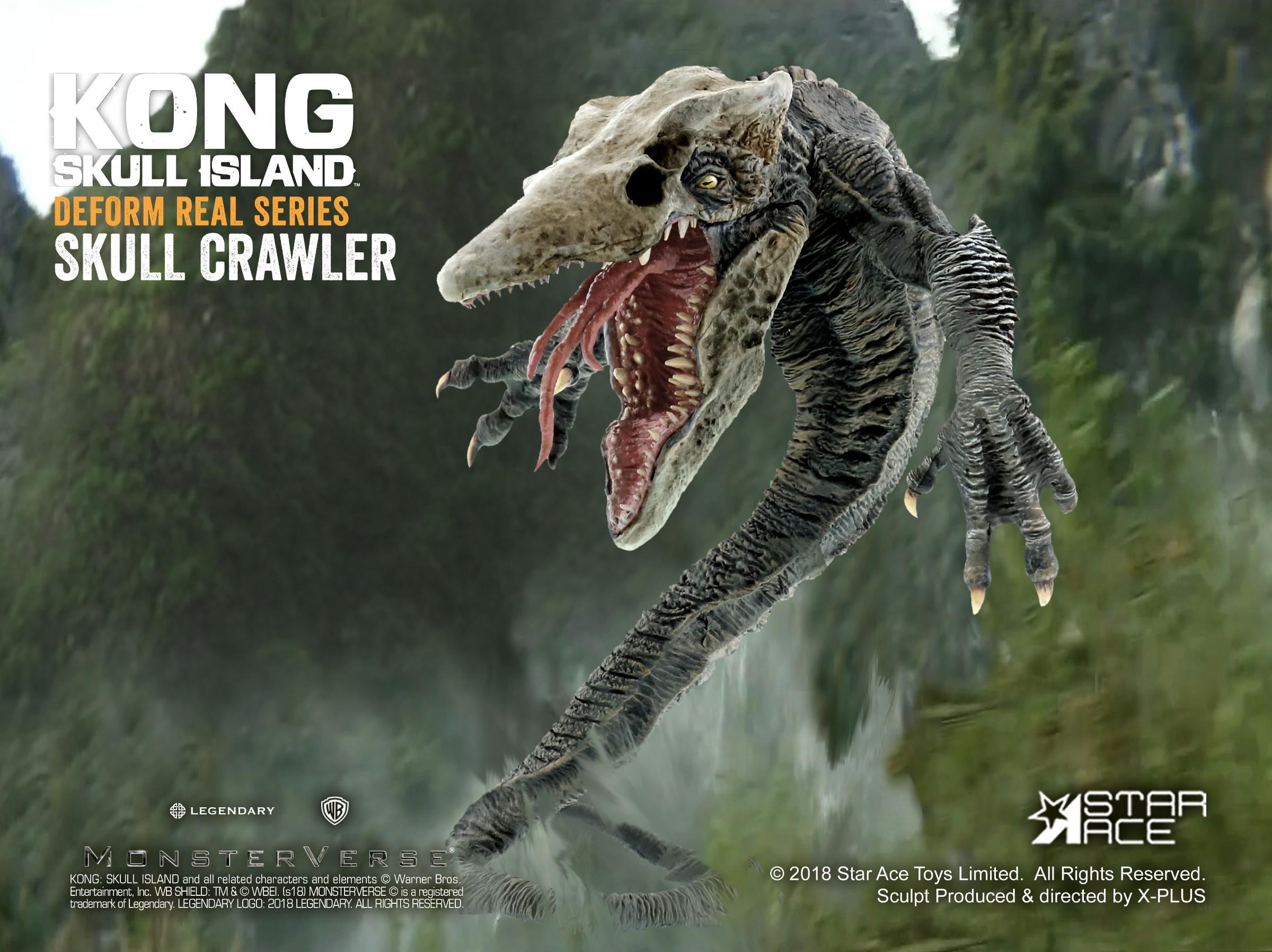 Sa6002 Star Ace Df Skull Crawler Deform Real Series 16