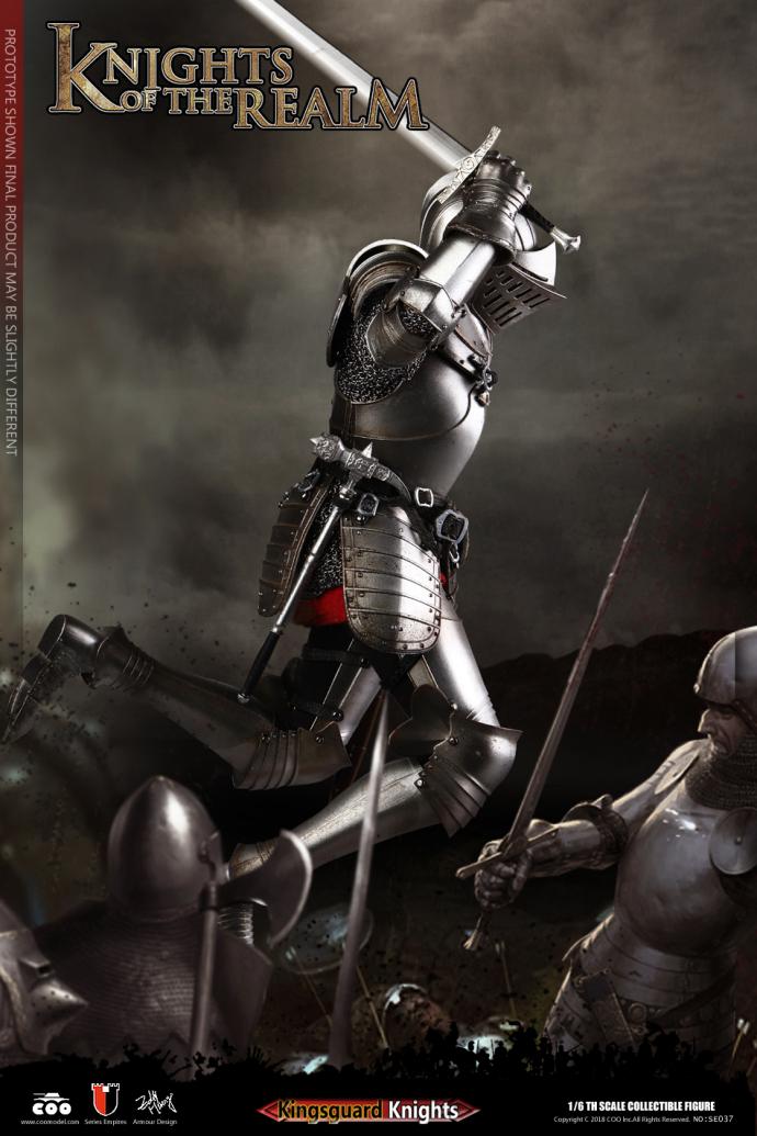 Kingsguard Hands Model COOMODEL SE037 Die-cast Alloy 1//6 Knights of the Realm