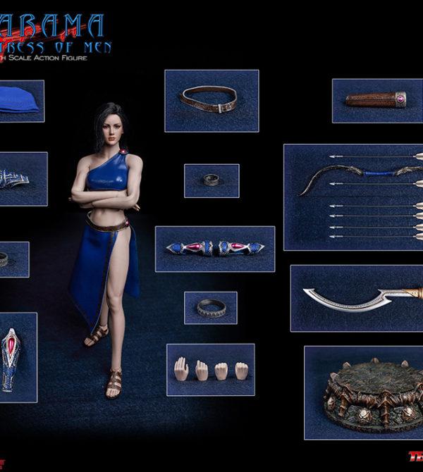PL2018-139 Phicen Narama, the Huntress of Men 1/6 Female Figure by TBLeague  X ARH ComiX