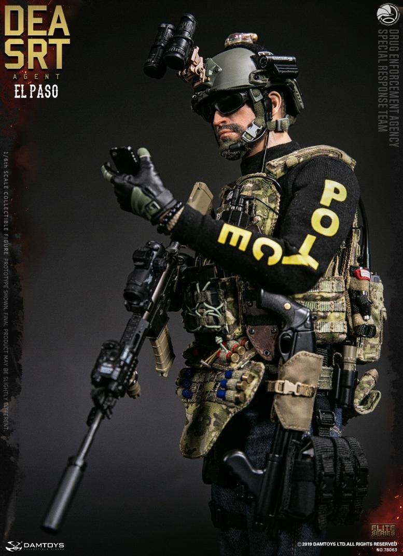 """DAM-78063 Dam Toys 1/6 DEA SRT """"Special Response Team"""