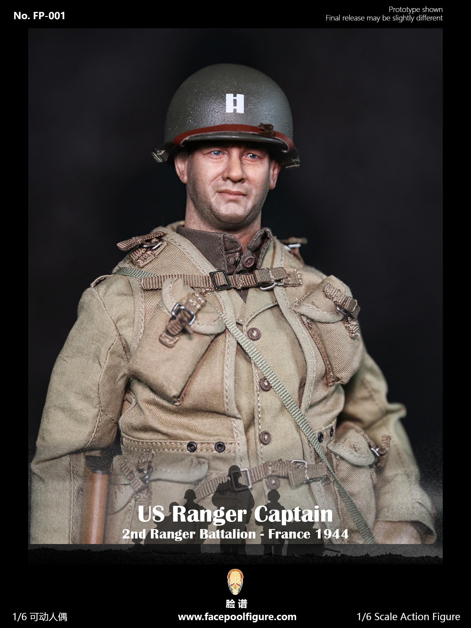 FP-001 Facepool figure 1/6 Action Figure - US Ranger